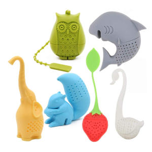 Animal Eco-friendly Silicone Tea Infuser
