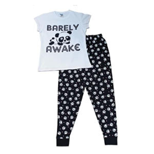 Barely Awake Panda Pyjamas