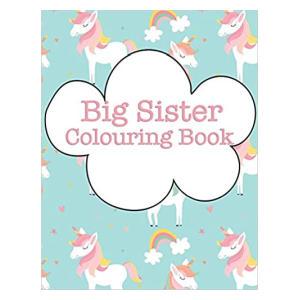 Big Sister Colouring Book