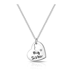 Big Sister Heart Necklace