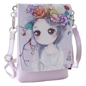 Cartoon Theme Mini Shoulder Bag