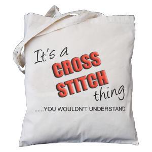 Cross Stitch Novelty Bag