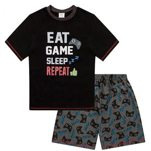 Eat Game Sleep Short Pyjamas