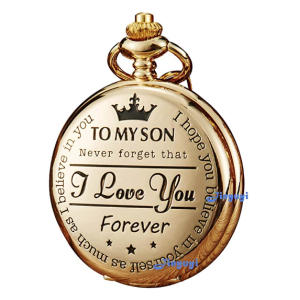 Engraved Son Watch Fob