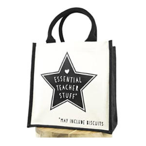 Essential Teacher Stuff Canvas Bag