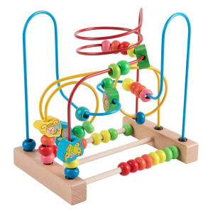 First Bead Maze Roller Coaster