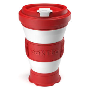 Folding 3-Sizes-in-1 Travel Mug