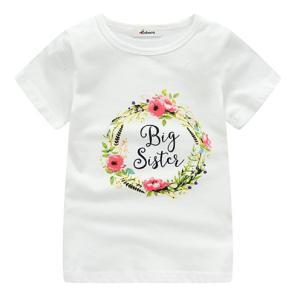 Girls Big Sister T Shirt