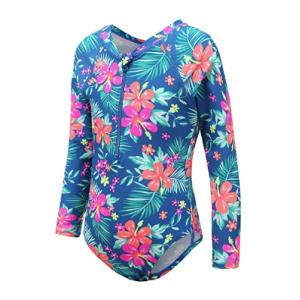 Girls Long Sleeve Swimsuit