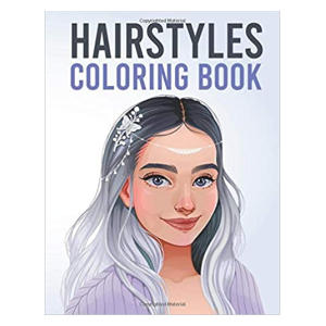 Hairstyles Coloring Book