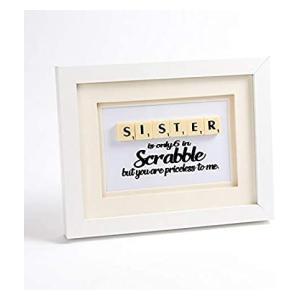 Handmade Sister Scrabble Print