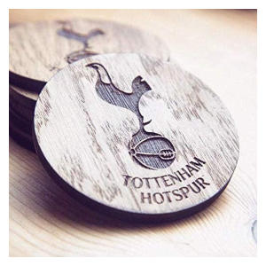 Tottenham Hotspur Wooden Coaster