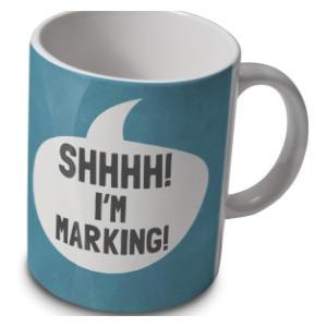 Shhhh I'm Marking Mug