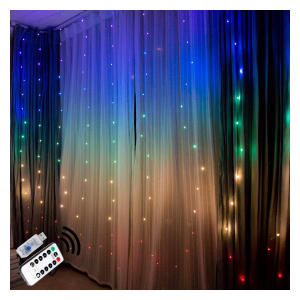 LED Coloured Fairy Lights