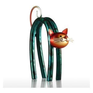 Little Cat Iron Sculpture