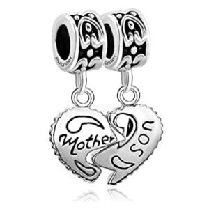 Mother Son Love Charms
