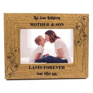 Mother and Son Photo Frame