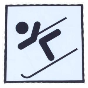 A Sporty Skier Microfibre Cloth