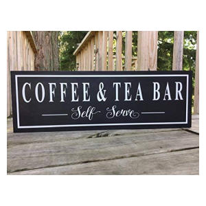 Novelty Coffee and Tea Sign - Fell Running and Obsession