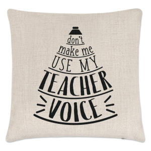 Novelty Teacher Cushion