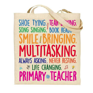 Novelty Teacher Tote Bag