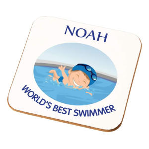 Personalised Best Swimmer Coaster