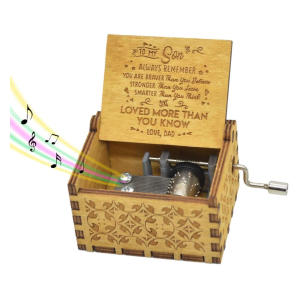 Personalised Son Music Box