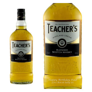 Personalised Teachers Whisky 70cl