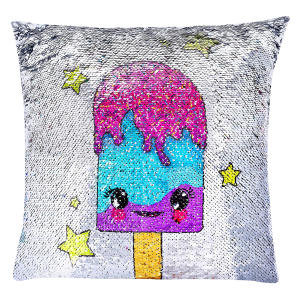 Magical Reversible Sequin Pillow