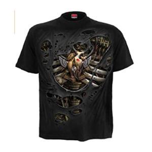 Steampunk Ripped T Shirt