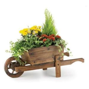 Rustic Garden Wheelbarrow Planter