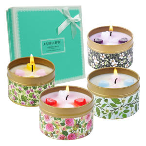 Scented Candles Tin Gift