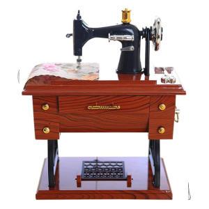 Personalised Vintage Sewing Machine Music Box