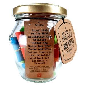 Sister Jar of Big Ideas