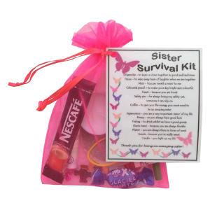Sister Survival Kit Gift