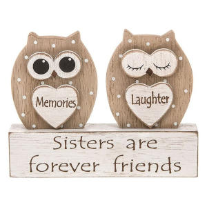 Sisters Owl Plaque