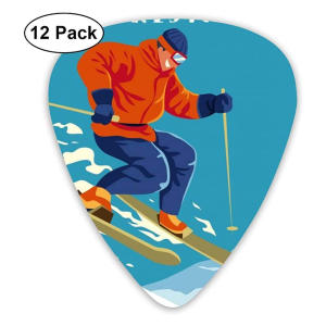 Skier Guitar Picks