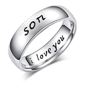 Son I Love You Ring