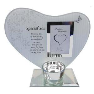 Special Son Heart Plaque