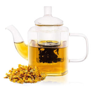 Square Teapot With Infuser