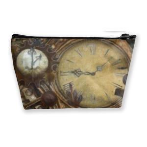 Steampunk Clocks Make Up Bag