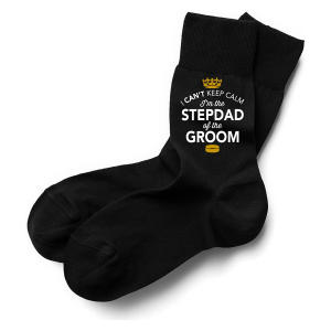 Stepdad of Groom Socks