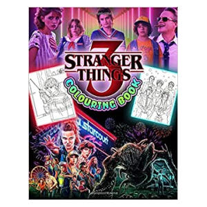 Stranger Things 3 Colouring Book