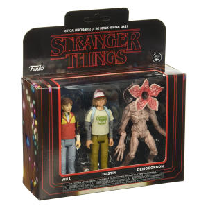 Stranger Things 3PK Action Figures