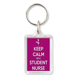 Novelty Student Nurse Keyring