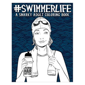 Swimmer Life Adult Colouring Book