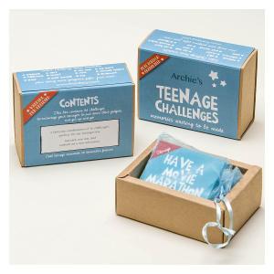 Personalised Teenage Boy Challenges