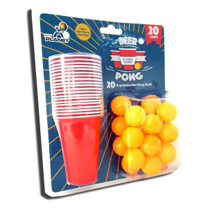 40 Piece Beer Pong Drinking Game