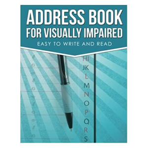 Address Book for Visually Impaired