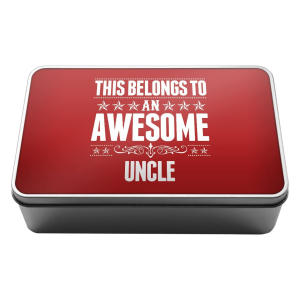 Awesome Uncle Storage Tin Box